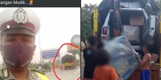 Viral Gambar Mobil Naik ke Truk, Disebut Akal-akalan Agar Bisa Mudik