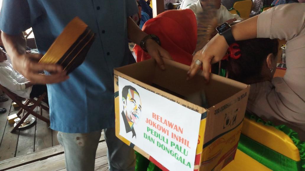 Relawan Jokowi Inhil Galang Dana untuk Bencana Palu dan Donggala