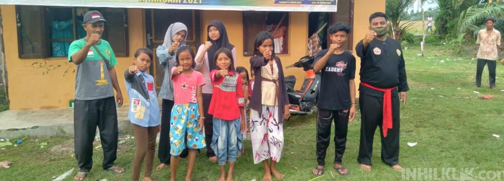 Perguruan Silat Kombinasi Cimande Membuka Padepokan Silat di Desa Pekan Sialang Buah