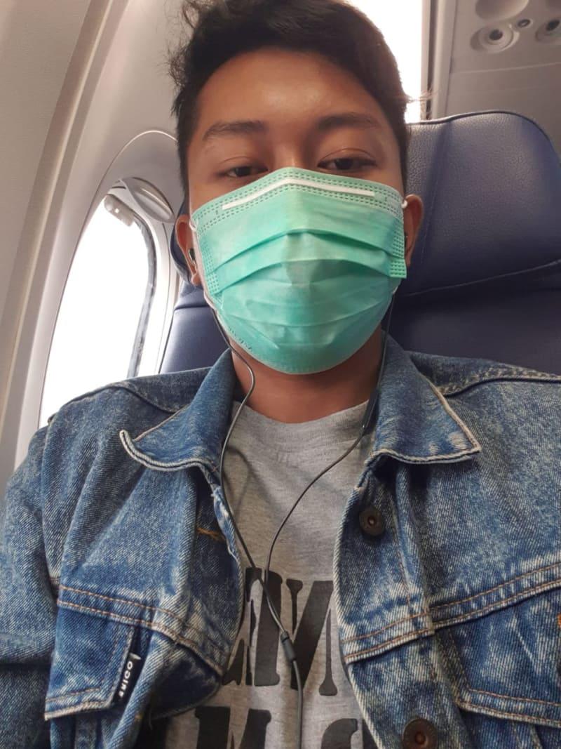 Derly Sempat Kirim Foto saat di Kabin Lion Air JT-610 kepada Istrinya