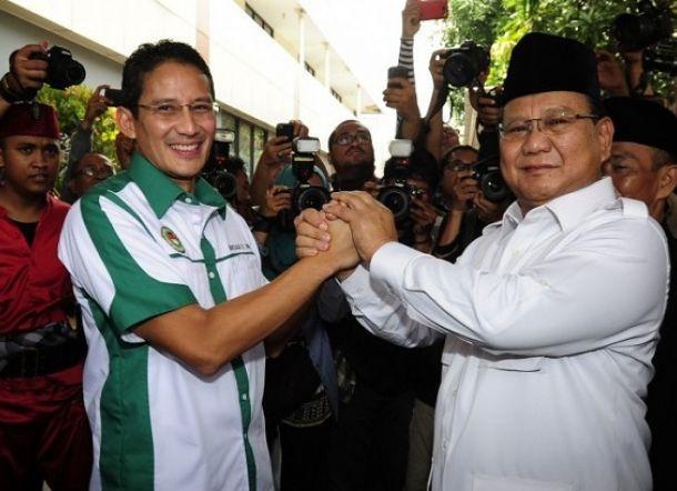Sandiaga Masuk Burso Cawapres Prabowo, Demokrat dan Gerindra pecah kongsi?