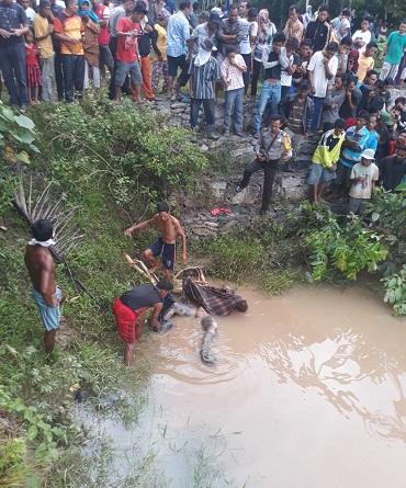 Warga Geger, Ada mayat Mengambang di Sungai Kuantan