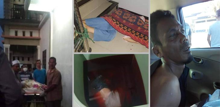 Suami Bunuh Istri dan Dua Anak Usai Makan Sahur