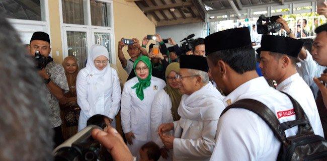 Dikunjungi Ma'ruf Amin, Cak Nun: Saya Penonton!