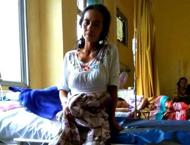 Hampir Sepekan, Pasien RSUD Tembilahan dari Desa Pungkat Belum Pernah Dikunjungi Dokter