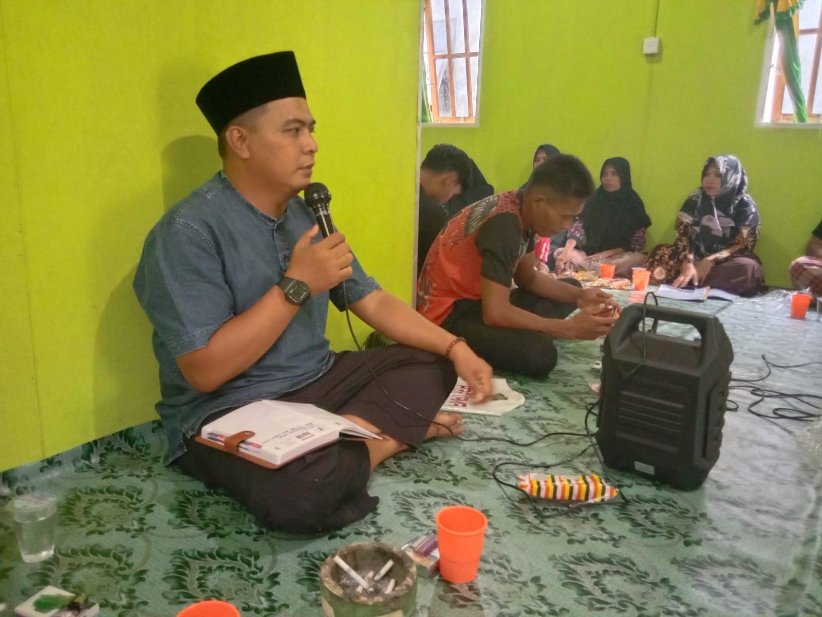 Baru Dilantik, Ketua BPD Desa Sungai Lokan Muhammad Saputra Gelar Musdus Perdana