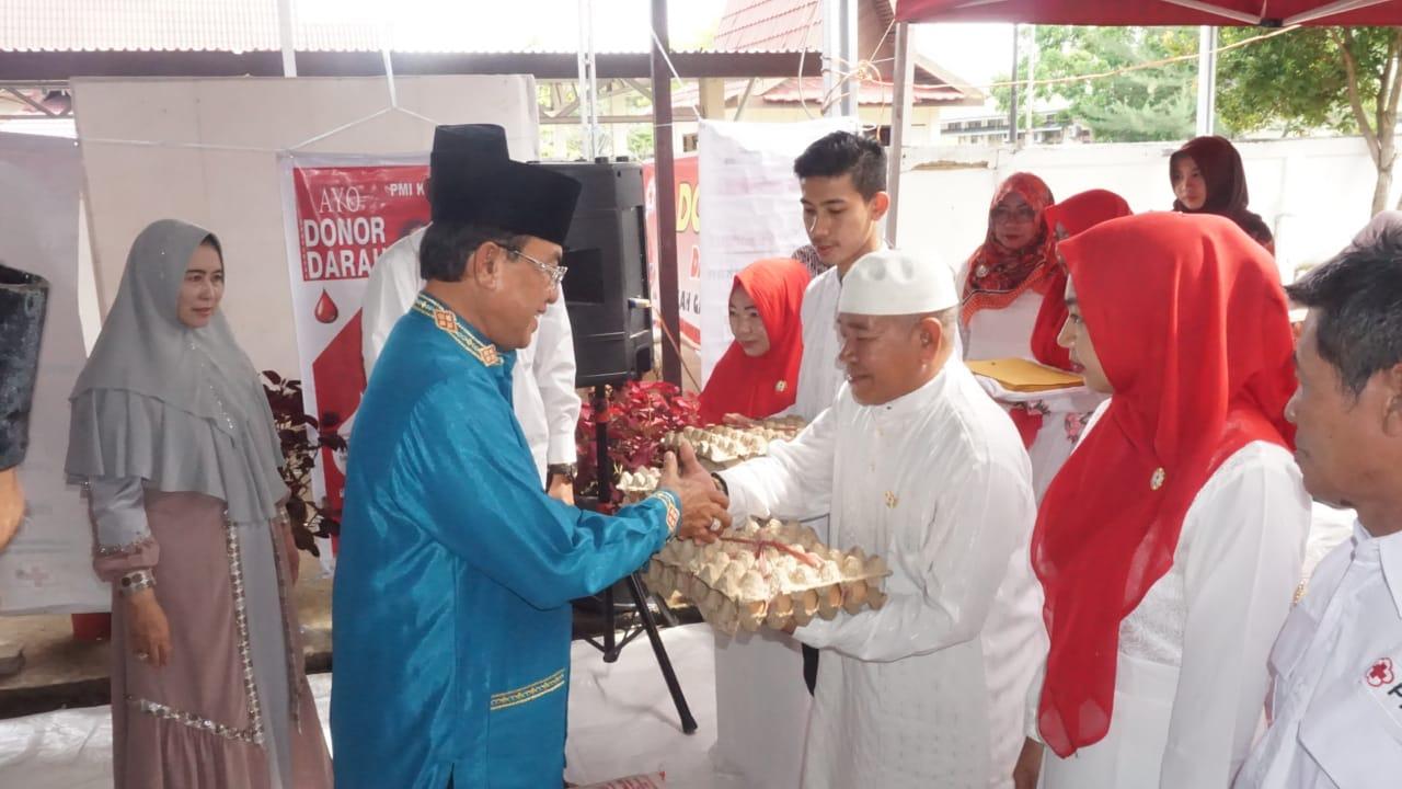 Jelang Ramadhan, Bupati Silaturahmi dengan Pengurus PMI