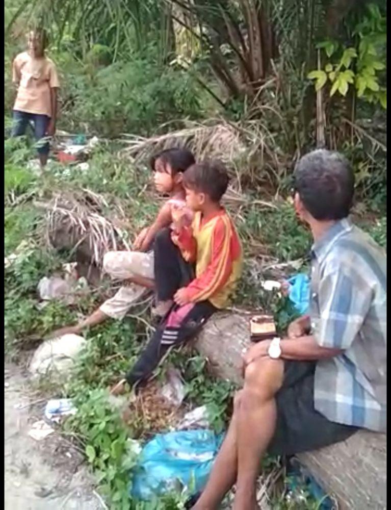Sejumlah Warga Jambi Mengungsi ke Riau Akibat Karhutla