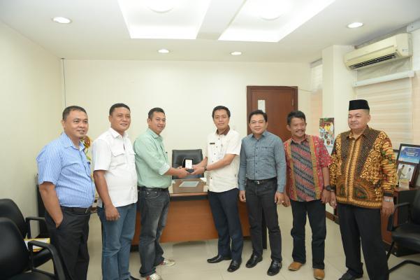 Komisi I DPRD Inhil Pelajari Sistem Publikasi Media Dalam Kunjungan Kerja Ke Pemprov