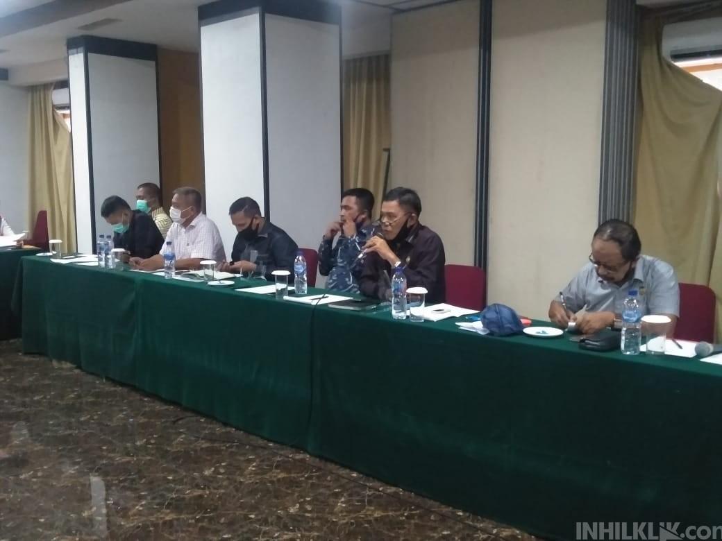 Tim Pansus II DPRD Sergai Sampaikan Daftar Inventaris Masalah Kepada Gugus Tugas Covid-19
