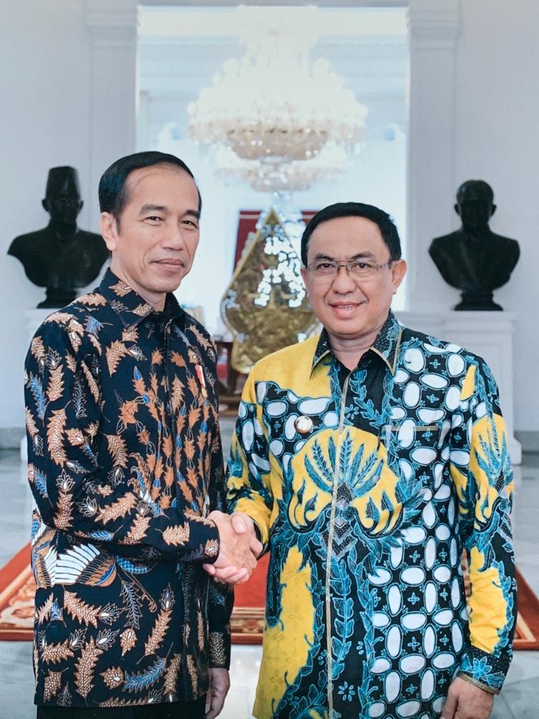 Bertemu Presiden Jokowi Hari ini, Apa yang Disampaikan Bupati Inhil?