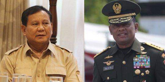 Gerindra Siap Bila Akhirnya Prabowo Tunjuk Gatot Jadi Capres