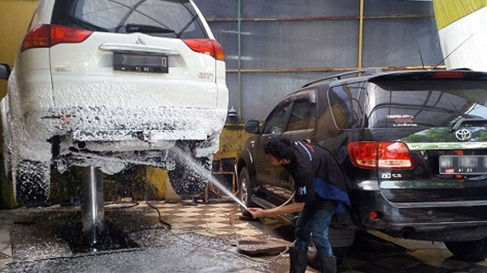 Image result for car washing with steam
