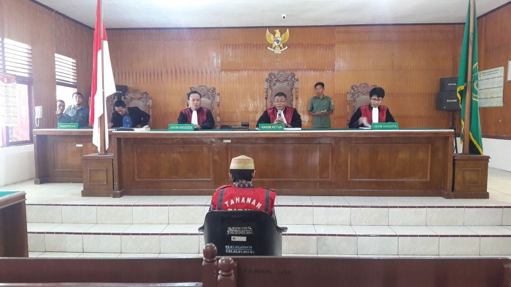 Pembunuh TNI di Inhil Dituntut Hukuman Mati