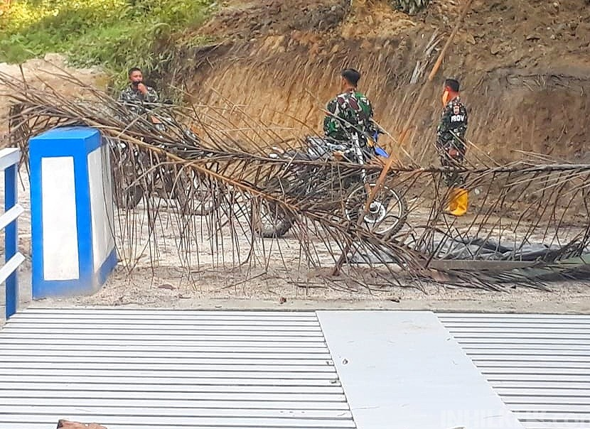 Dua Jembatan Telah Rampung, Satgas TMMD Kodim 0204/DS Terus Kejar Target