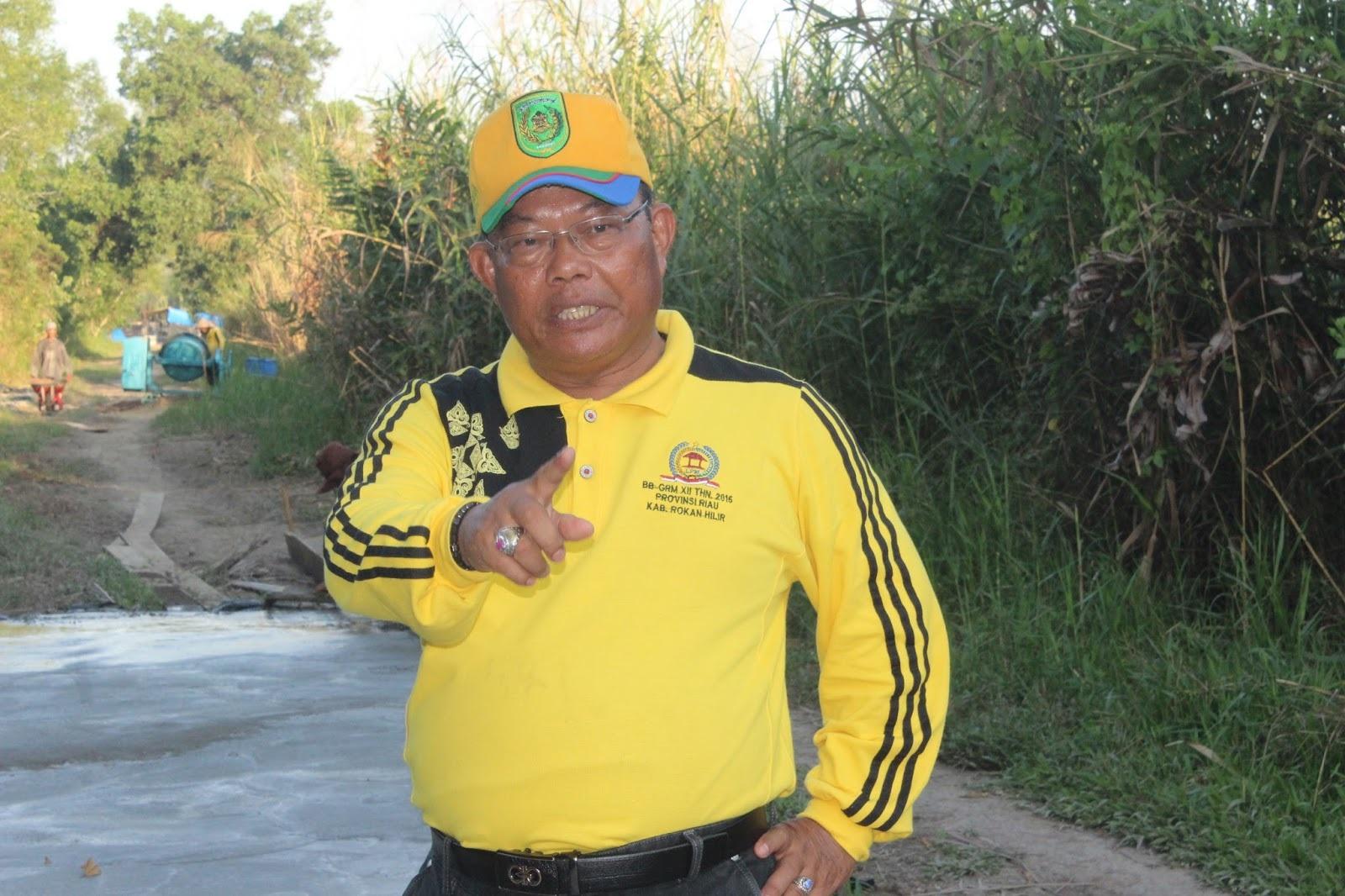 Kepala DPMD Inhil: Saya tidak pernah minta uang sama Kepala Desa