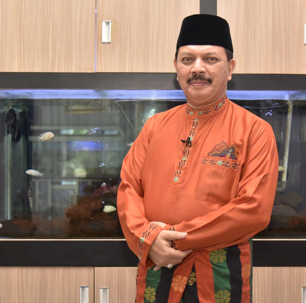 Jajaran Pemkab Inhil Ucapkan Selamat Atas Pernikahan Putra Bungsu Bupati, HM Wardan