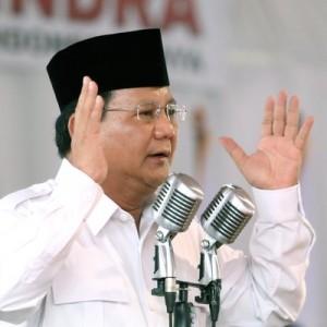 Prabowo Minta Para Pendukung Tak Terhasut dengan Quick Count