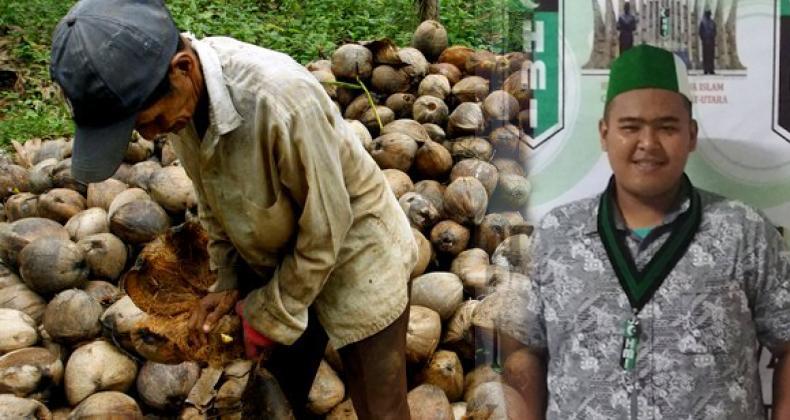 Jeritan Mahasiswa Inhil Anak Petani Kelapa