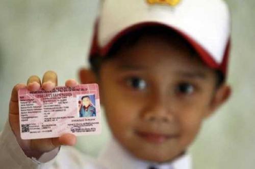 Anak-anak di Kepulauan Meranti Sudah Bisa Miliki Kartu Idenditas