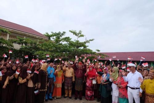 Peringati Hari Anak Internasional, 11 Sekolah di Inhil Belajar di Luar Kelas Selama 3 Jam