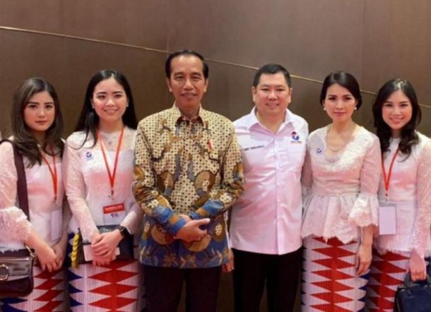 Anaknya Disodorkan Jadi Menteri Jokowi, Hary Tanoe Bilang Begini
