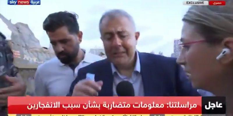 Bercucuran Air Mata, Gubernur Beirut: Kami Kuat