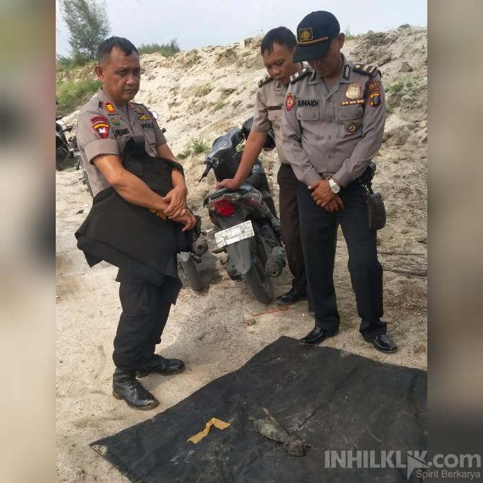 Geger,! Masyarakat di Sergai Temukan Bom Mortir