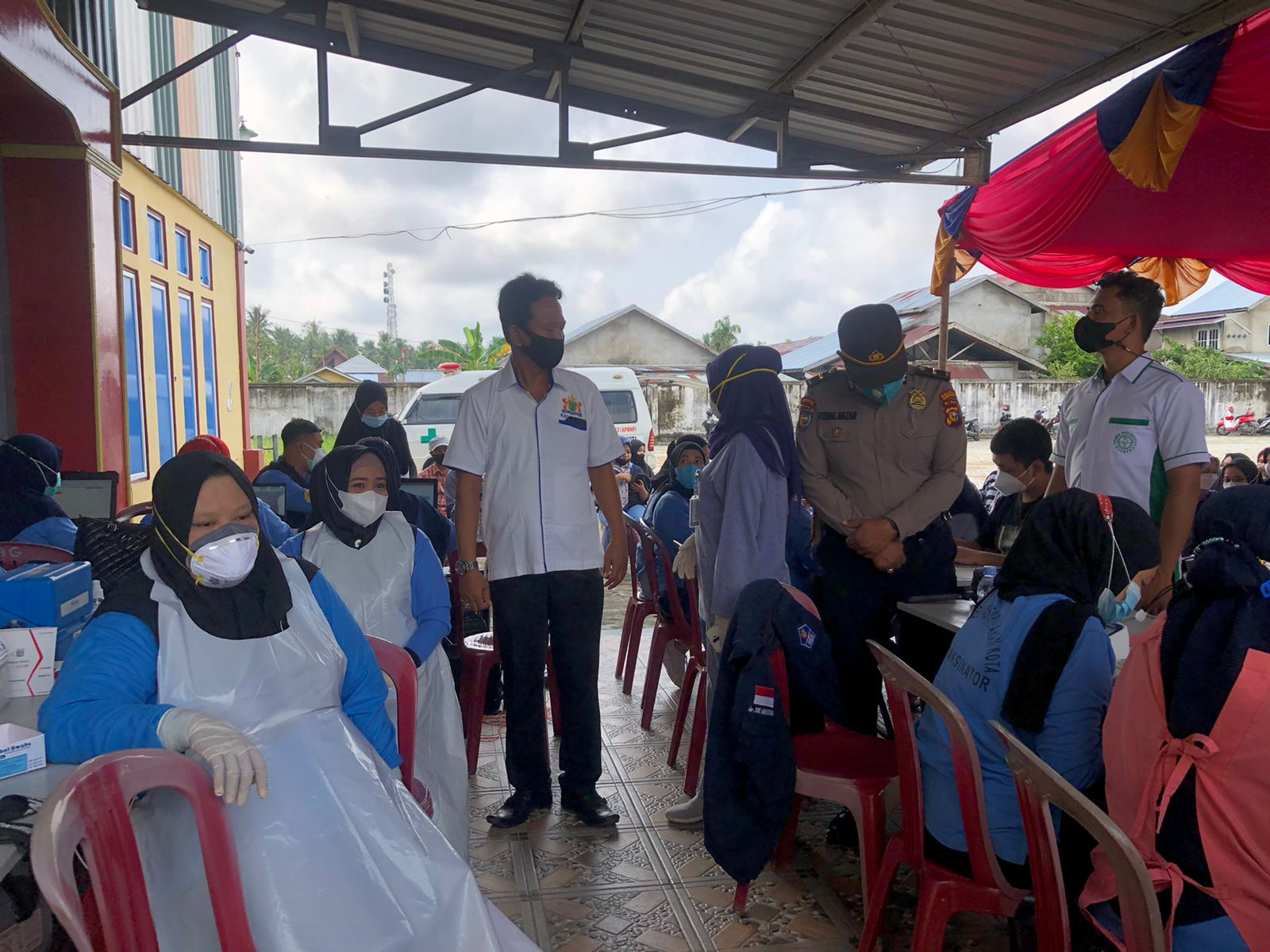 Edy Indra Kesuma : Kadin Upayakan Lebih Banyak Vaksin Masuk ke Inhil