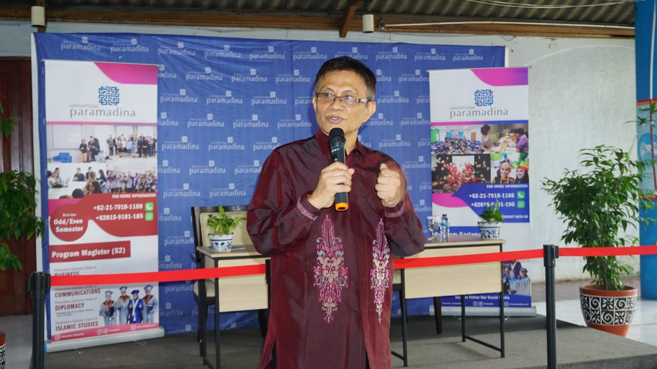 Resmi Dilantik Sebagai Rektor, Prof. Didik J Rachbini Sampaikan Tiga Hal Penting Untuk Universitas Paramadina