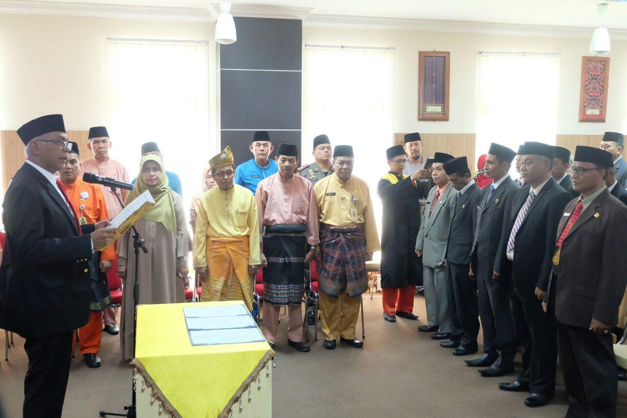 Rudyanto Lantik Pejabat Administrator, Pejabat Pengawas Dan Jabatan Fungsional