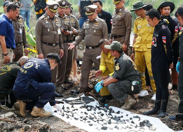 Polisi Temukan 288 Tulang Manusia yang Disembunyikan di Dasar Kolam