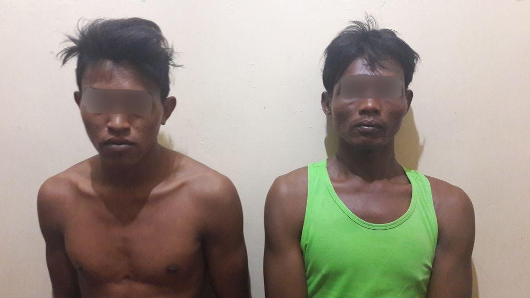 Dua Pria ini tak Berkutik Saat Ditangkap di Tengah Laut