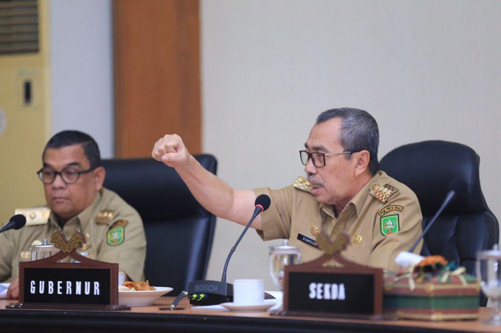 Gubri Syamsuar Ajak Warga Riau Bangkit dan Lawan Pandemi Covid-19