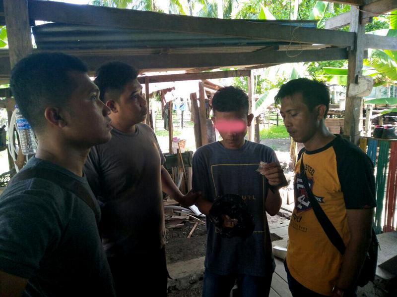 Timsus Polres Kepulauan Selayar Gelandang Remaja Tanggung Pemilik 136 Butir Pil Dexa