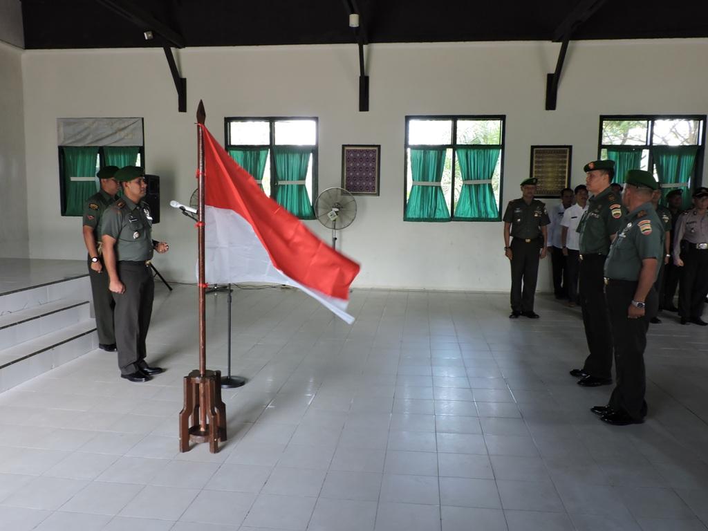 Dandim 0314/Inhil pimpin Acara Korps raport dan Masuk Satuan