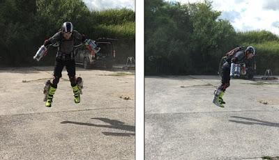 Pria Ini Kembangkan Alat untuk Terbang Bak Iron Man