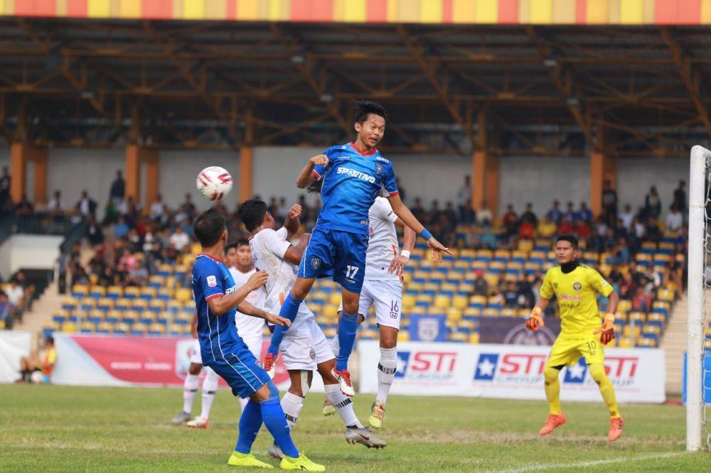 Jamu PSGC Ciamis, PSPS Riau Pesta Gol di Stadion Rumbai