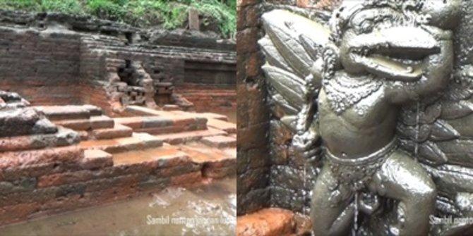 Potret Kolam Mewah Kerajaan Majapahit, Ditemukan Usai Ratusan Tahun Tertimbun Lahar