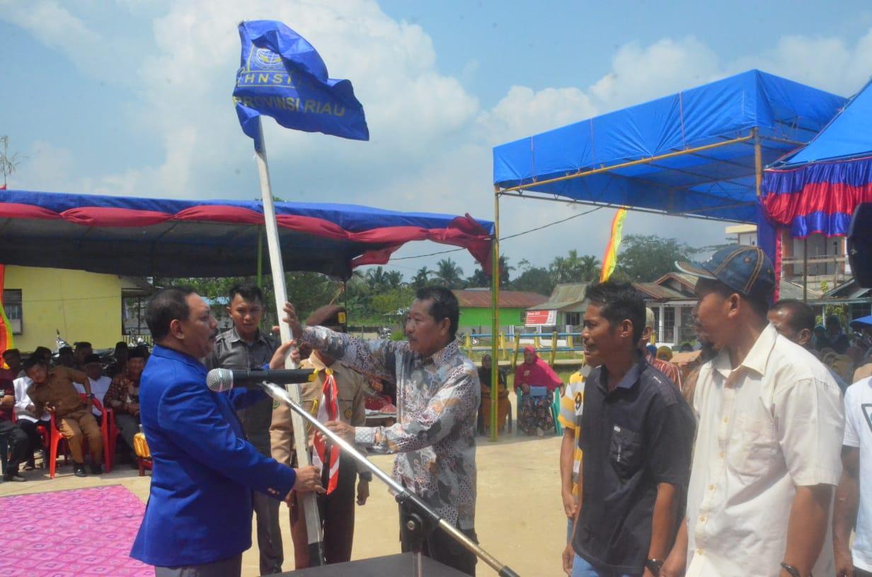 Sekda Inhil Ikuti Prosesi Pelantikan Pengurus Rukun HNSI Se - Kecamatan Gaung