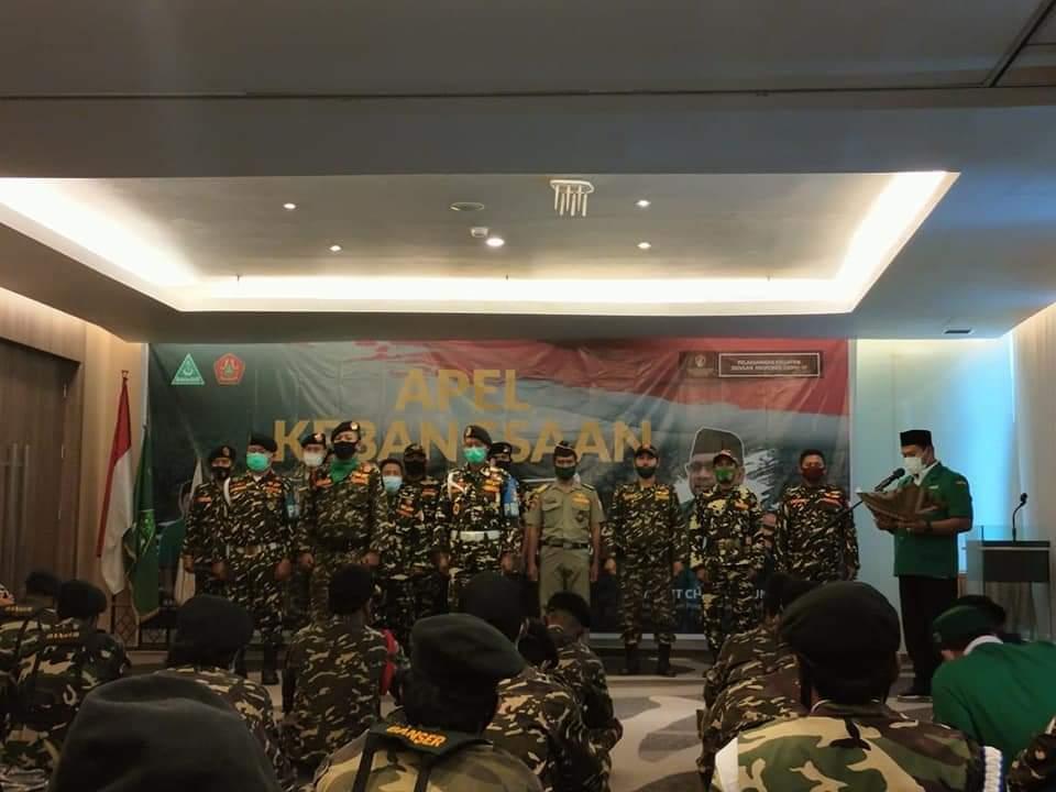 Purwaji Kukuhkan Personalia Satkorwil Banser Riau