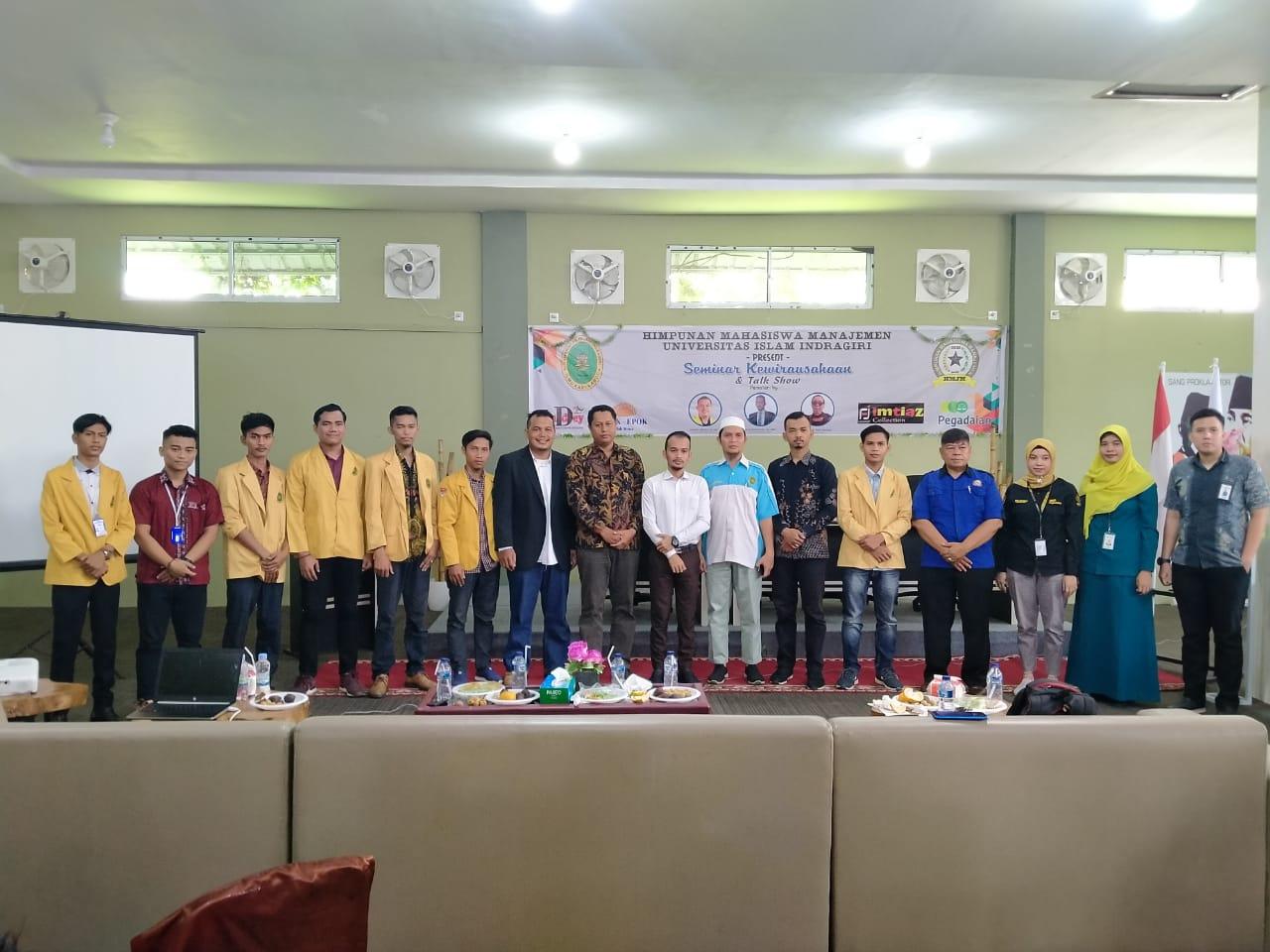 Sebarkan Semangat Wirausaha Di Kalangan Mahasiswa, UMJM UNISI Adakan Seminar & Talkshow