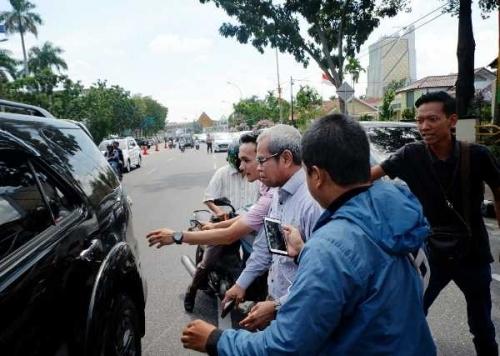 Wabup Bengkalis Jalani Pemeriksaan Atas Dugaan Korupsi Pipa Transmisi PDAM