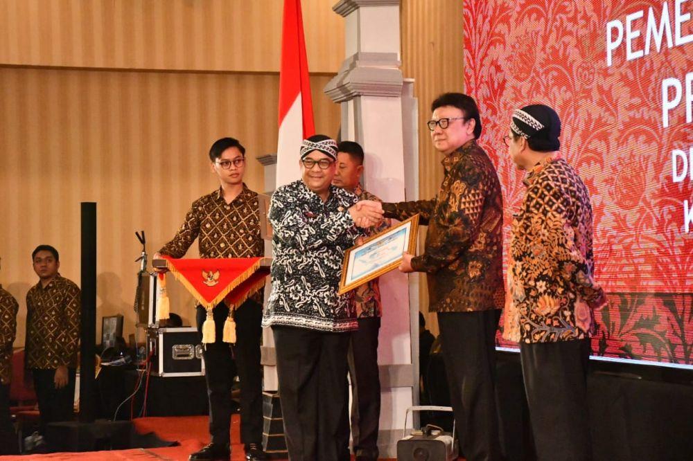 Riau Raih Penghargaan Dari Arsip Nasional RI