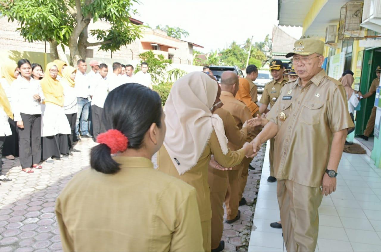 Pasca Cuti Lebaran, Bupati dan Wakil Bupati Sergai Sidak ke Sejumlah Tempat