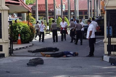 Gagal Serang Mako Brimob, Terduga Teroris Malah Serang Polda Riau