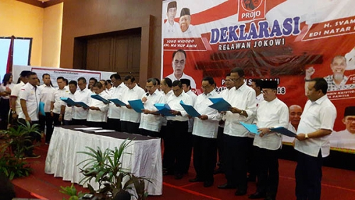 Bawaslu Nilai Tidak Etis Kepala Daerah se-Riau Deklarasi Dukung Jokowi