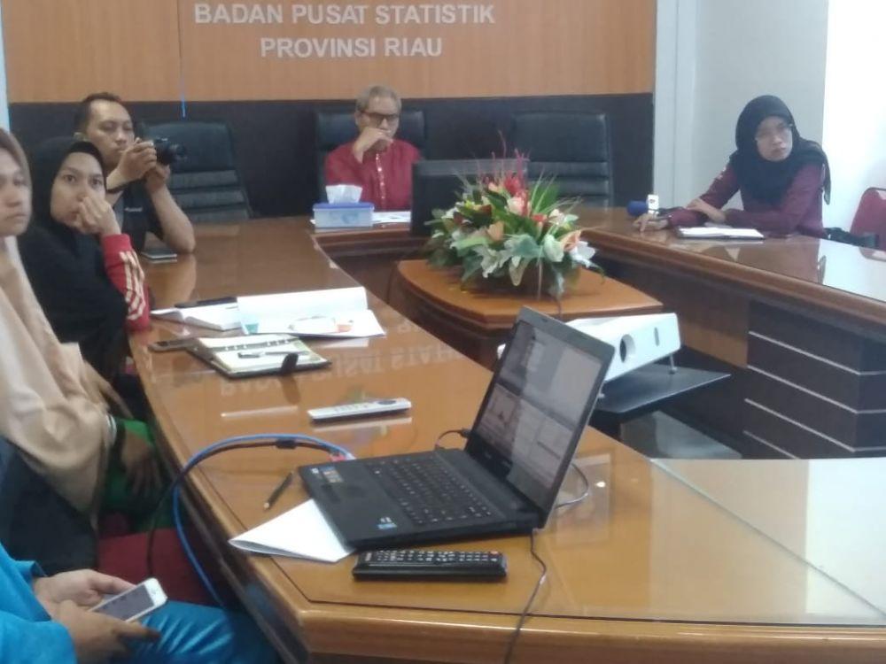 Ekonomi Riau Tumbuh 2,80 Persen Pada Triwulan II 2019