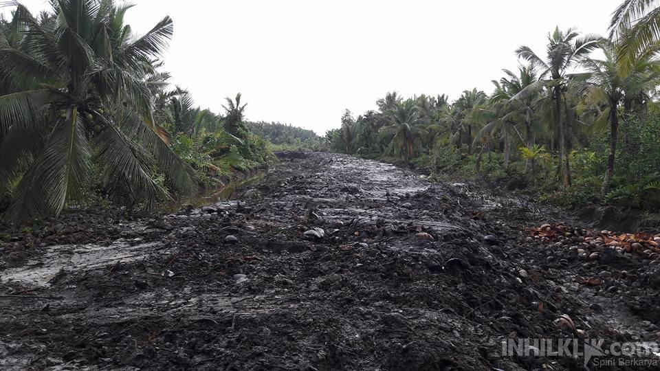 Desa Kuala Gaung Bangun 25 KM Tanggul Untuk Selamatkan Perkebunan Masyarakat
