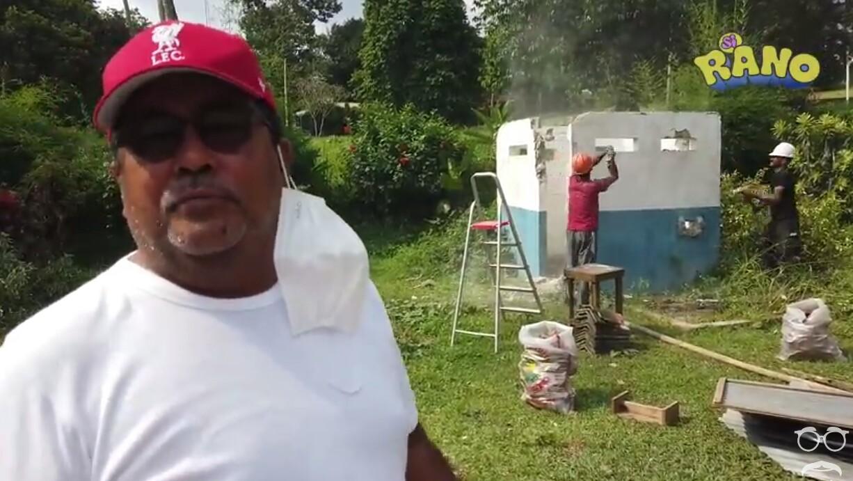 Rano Karno Bongkar Rumah Si Doel, Netizen Sedih